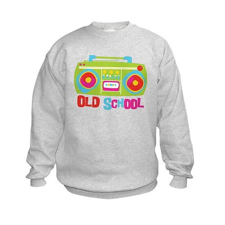 Old School Boom Box Kids Sweatshirt