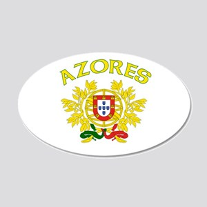 Azores, Portugal 20x12 Oval Wall Peel