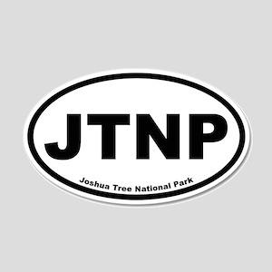 Joshua Tree National Park 20x12 Oval Wall Peel