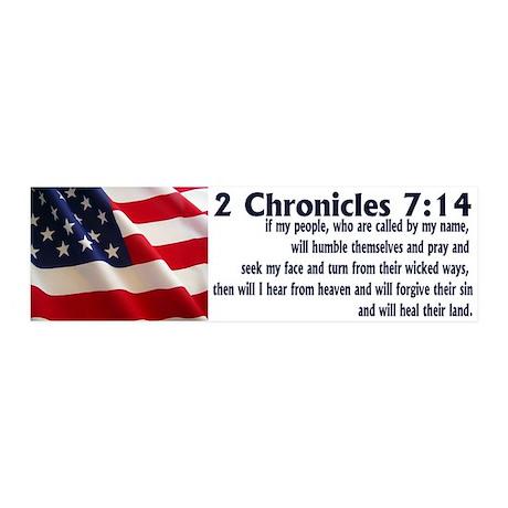 2 Chronicles 7:14 20x6 Wall Peel