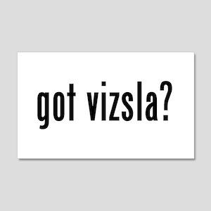 GOT VIZSLA 20x12 Wall Peel