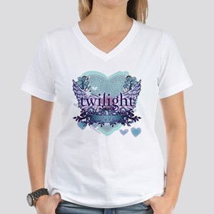 Twilight Forever by Twibaby.com Women's V-Neck T-S