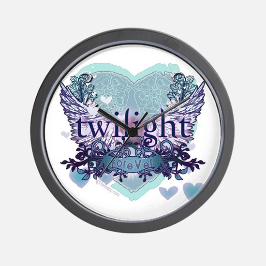 Twilight Forever by Twibaby.com Wall Clock