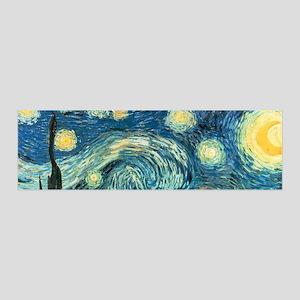 Vincent van Gogh's Starry Night 36x11 Wall Peel