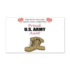 Proud US Army Aunt 20x12 Wall Peel