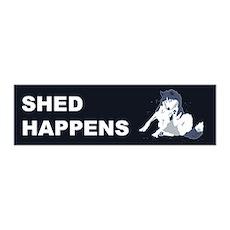 Shed Happens 20x6 Wall Peel