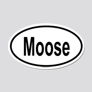 MOOSE 20x12 Oval Wall Peel