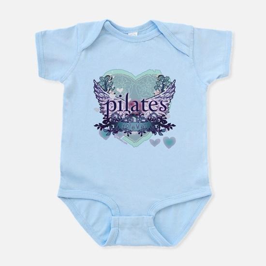 Pilates Forever by Svelte.biz Infant Bodysuit