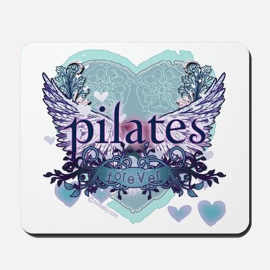 Pilates Forever by Svelte.biz Mousepad