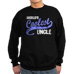 World's Coolest Uncle Sweatshirt (dark)