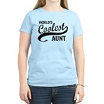 World's Coolest Aunt Women's Light T-Shirt
