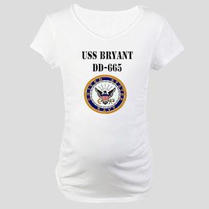 USS BRYANT Maternity T-Shirt