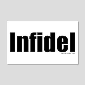 INFIDEL 20x12 Wall Peel