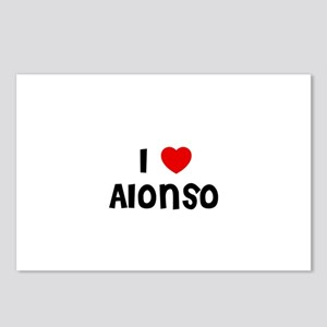 I * Alonso Postcards (Package of 8)