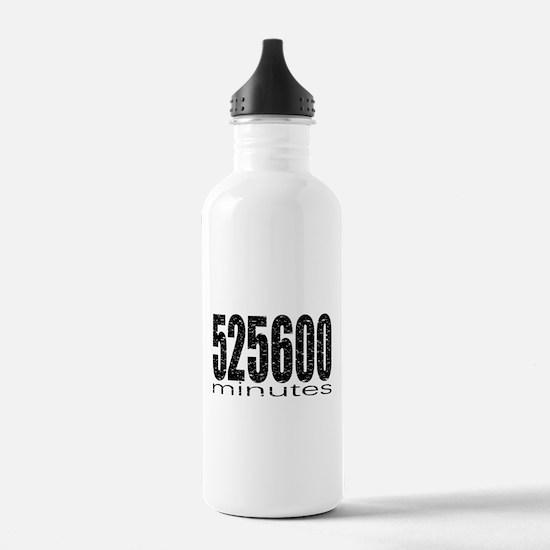 525600 Minutes Water Bottle