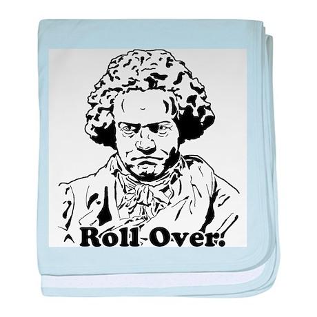 Roll Over Beethoven baby blanket
