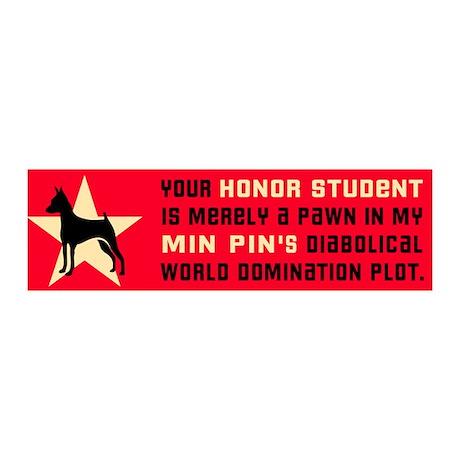Min Pin World Domination 36x11 Wall Peel