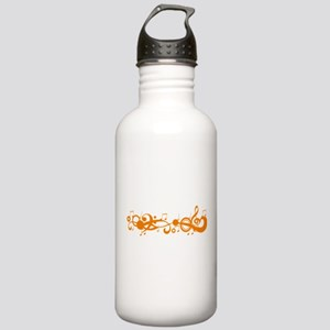 Orange Melody Stainless Water Bottle 1.0L