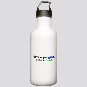 Save a Penguin Stainless Water Bottle 1.0L