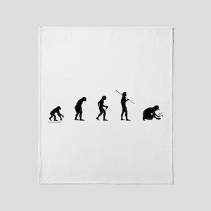 Gardener Evolution Throw Blanket