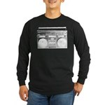 Boombox Long Sleeve Dark T-Shirt