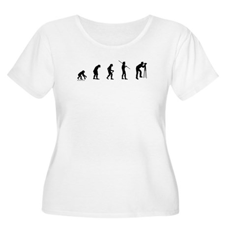 Photog Evolution Women's Plus Size Scoop Neck T-Sh