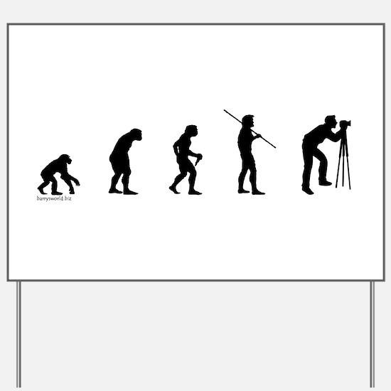 Photog Evolution Yard Sign