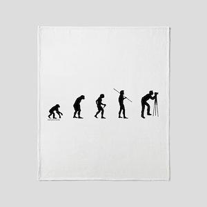 Photog Evolution Throw Blanket