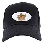Gold Cows Black Cap