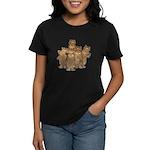 Gold Cows Women's Dark T-Shirt