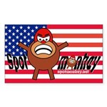 Spotmonkey.Net Rectangle Sticker