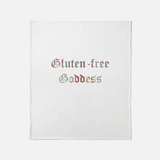 Gluten-free Goddess Throw Blanket