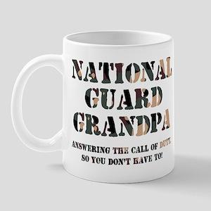 NG Grandpa Answering the Call Mug