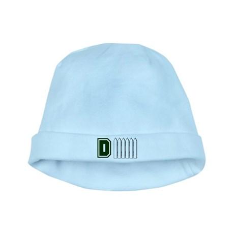 D FENCE (1 GREEN) baby hat