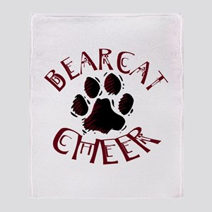 BEARCAT CHEER *5* Throw Blanket
