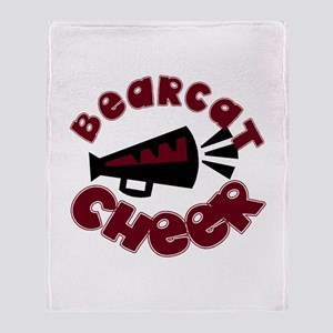 BEARCAT CHEER *9* Throw Blanket