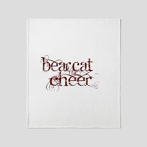 BEARCAT CHEER *12* Throw Blanket