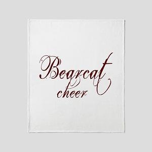 BEARCAT CHEER *17* Throw Blanket