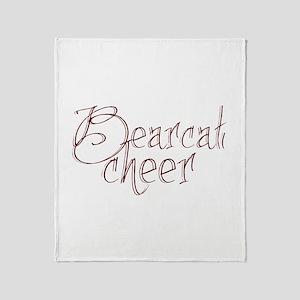 BEARCAT CHEER *18* Throw Blanket
