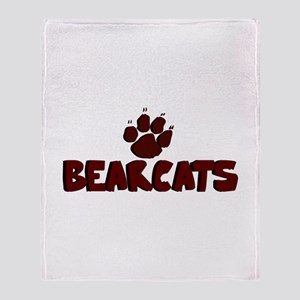 BEARCATS (8) Throw Blanket