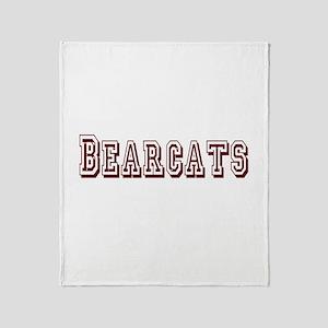 BEARCATS (7) Throw Blanket