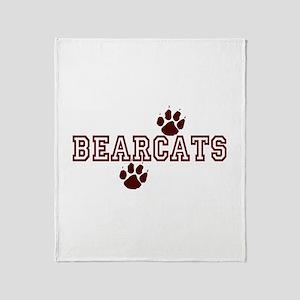 BEARCATS (5) Throw Blanket