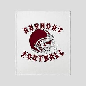 BEARCAT FOOTBALL (10) Throw Blanket