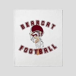 BEARCAT FOOTBALL (9) Throw Blanket