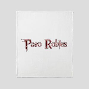 PASO ROBLES *6* Throw Blanket