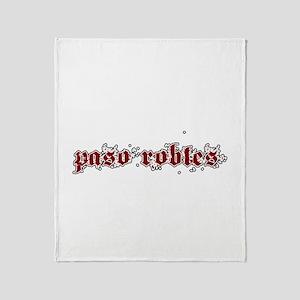 PASO ROBLES *1* Throw Blanket