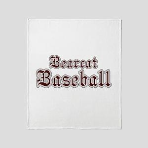 BEARCAT BASEBALL (1a) Throw Blanket