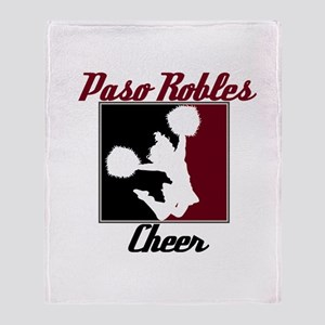 Paso Robles Cheer (1) Throw Blanket