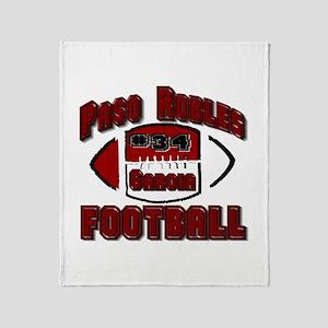 PASO FOOTBALL (#34 garcia) Throw Blanket
