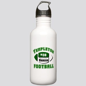 TEMPLETON FOOTBALL (5 custom) Stainless Water Bott